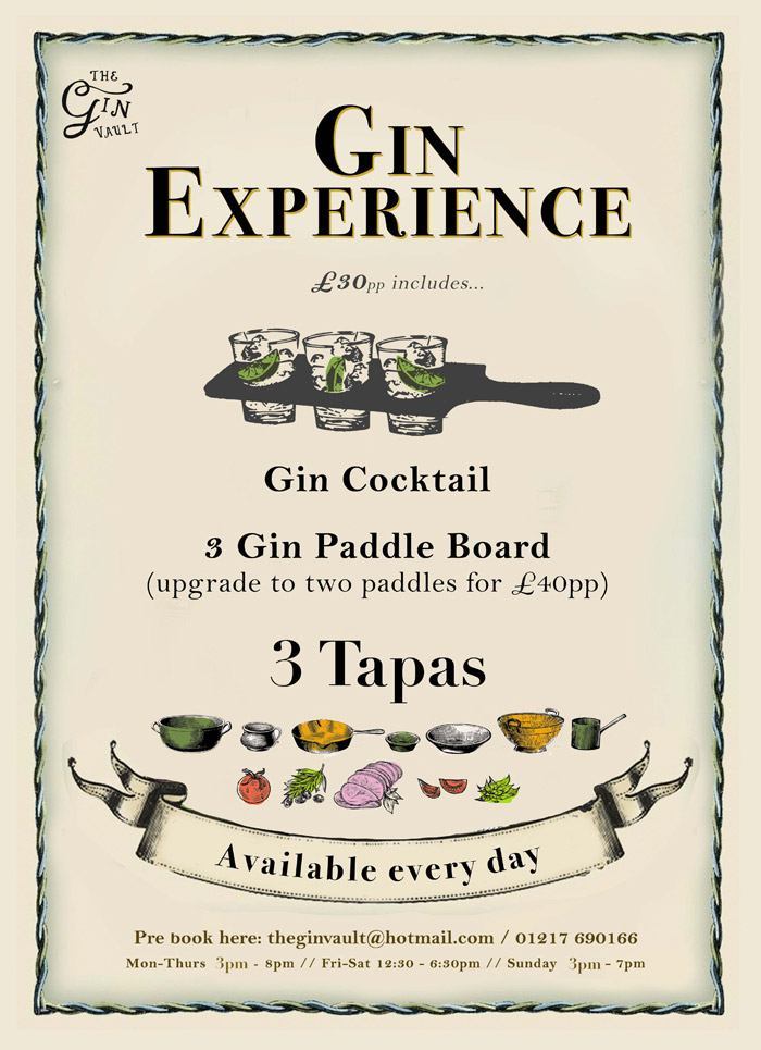 The Gin Experience Graphic