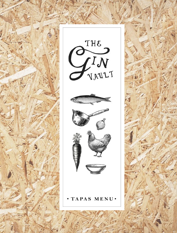 The Gin Vault Tapas Graphic