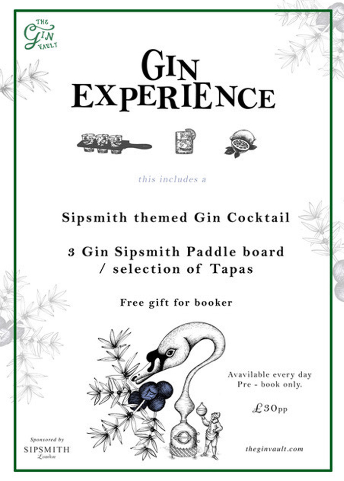The Gin Vault Christmas Experience